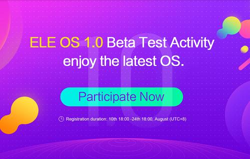 Elephone beginnt Beta Test für ihr hauseigenes ELE OS 1.0mit dem P8 Mini.