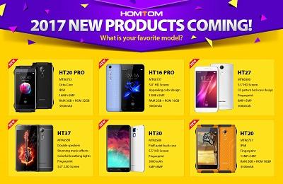 Homtom mit einem Ausblick auf kommende Geräte für 2017