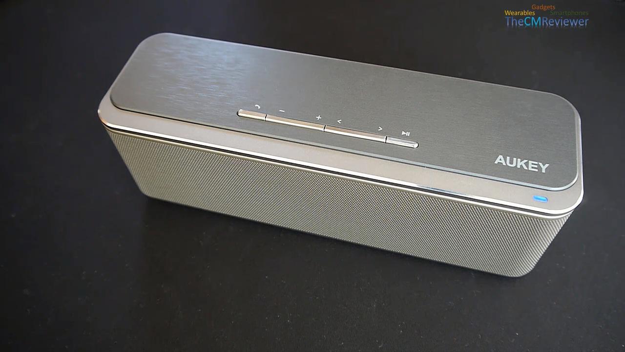 Aukey ® Wireless Portable Speaker SK-S1 // Review //  - Eine Stereo Bluetooth Lautsprecher Box im Test