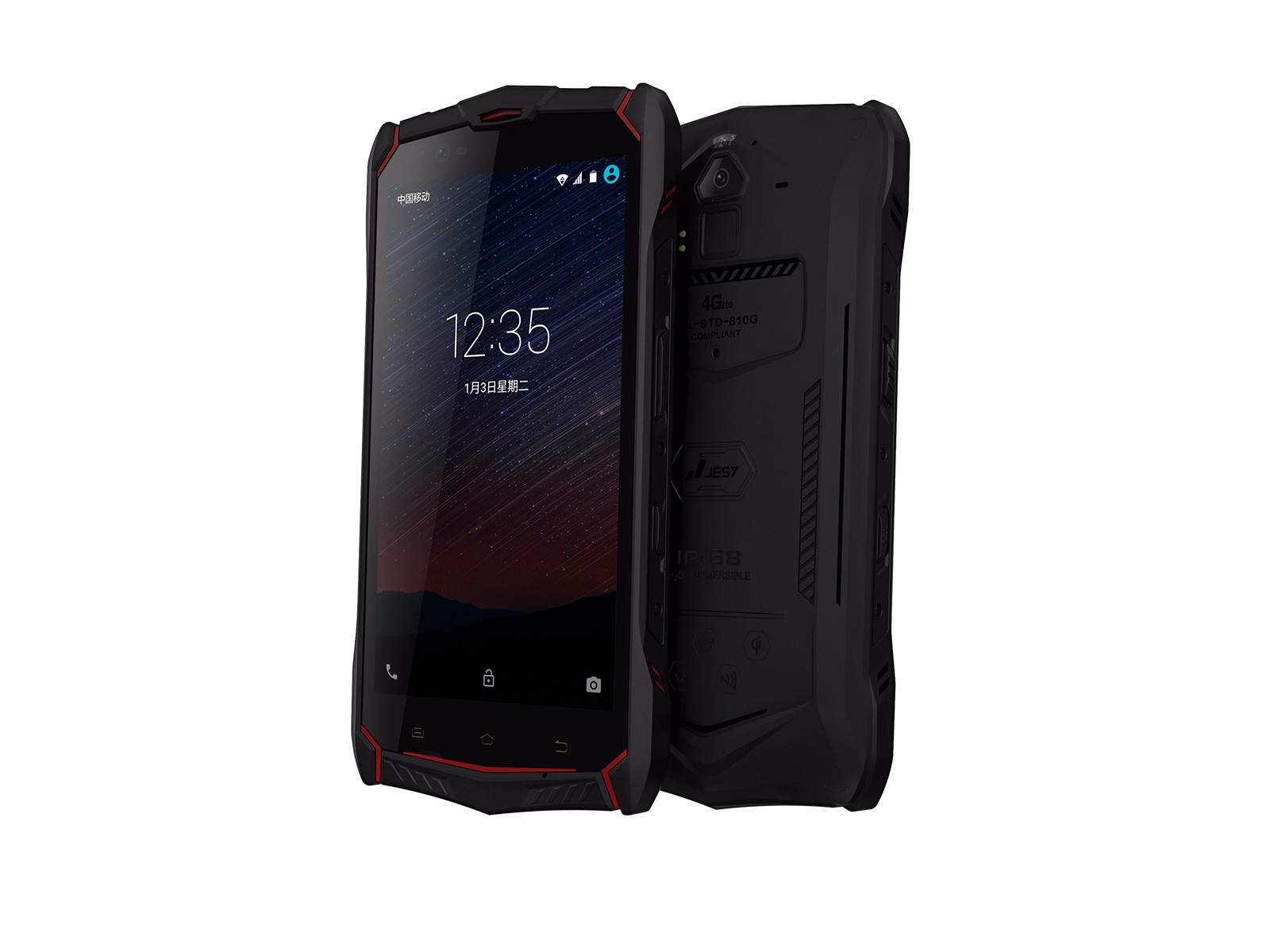Jesy J9S  // Review // Helio P10 Octa Core Rugged Waterproof Smartphone LTE - Outdoor Handy im Test
