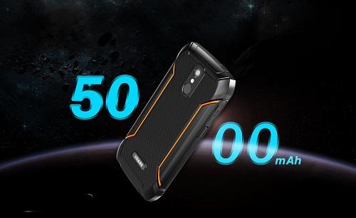 Uhans K5000 - Kleines Outdoor Smartphone für einen schmalen Kurs