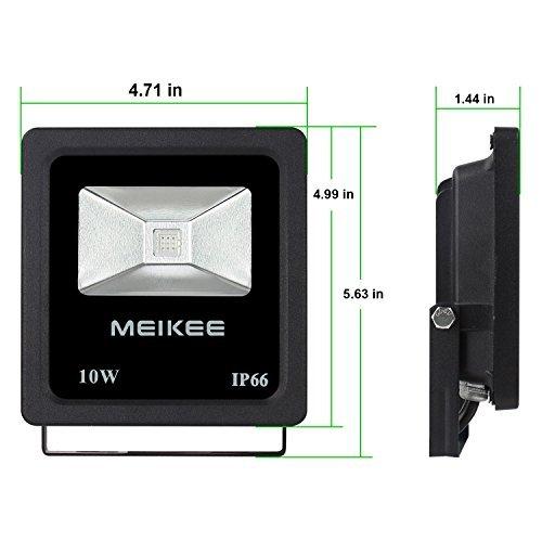 Meikee RGB Fluter - Eine LED Farbstrahler im Test