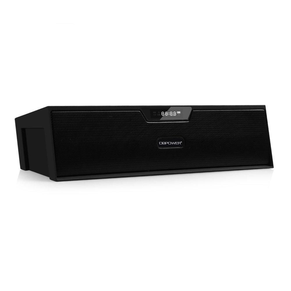 DBPOWER Wireless Speaker BX-100 // Review //  - Bluetooth Stereo Lautsprecher Box mit FM Radio und Uhr im Test