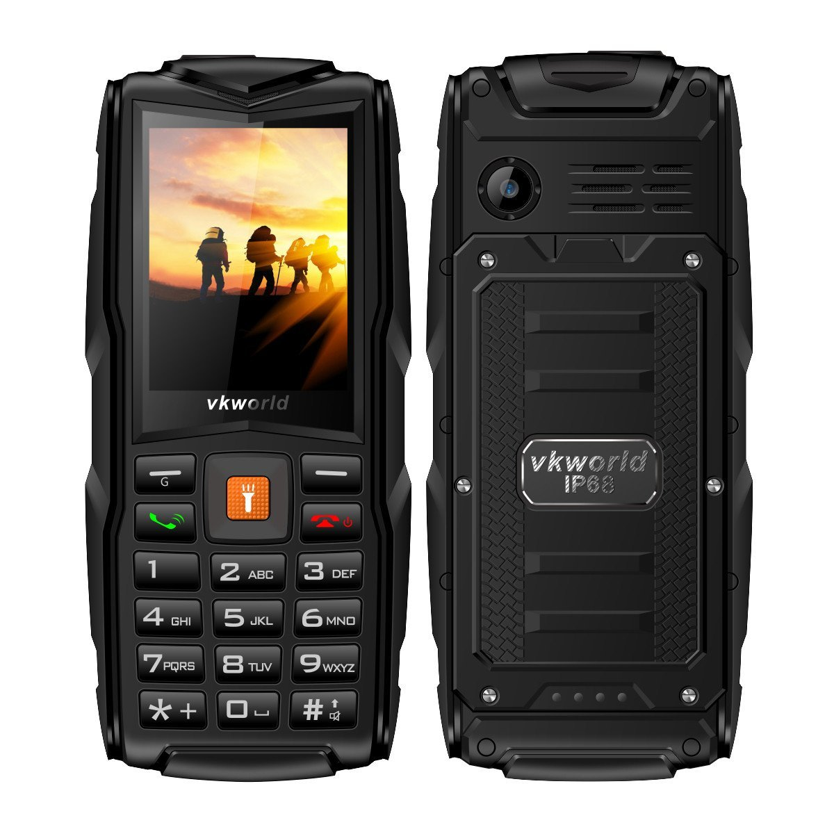 VKWorld New V3 Review - Ein IP68 Phone mit einfacher Telefon-Tastatur im Test