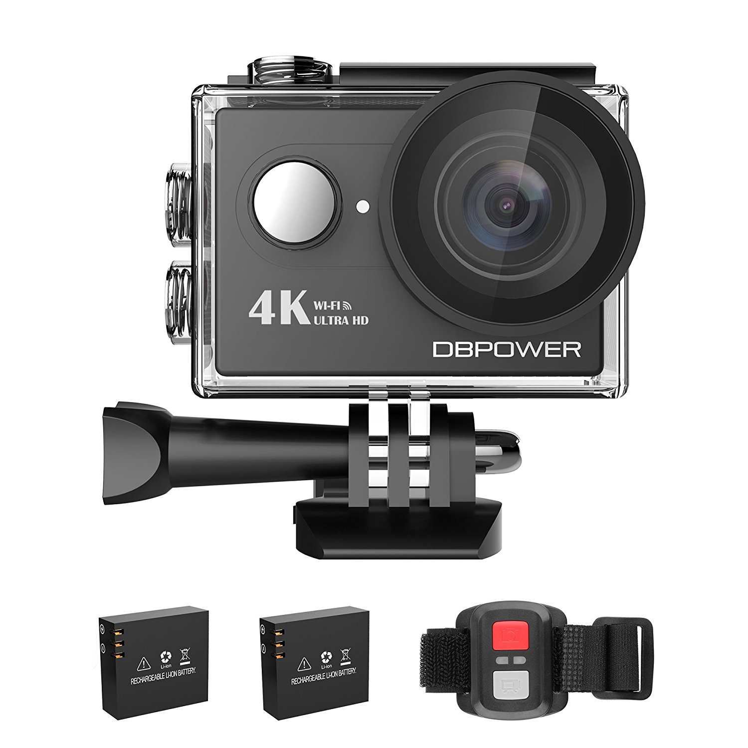 DBPOWER 620C 4K Action CAM // Review // Eine Action CAM mit Wi-Fi im Test