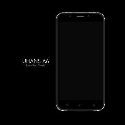 Uhans A6 mit 5.5 Zoll, MT6580 ARM 1.3GHz und 2/16GB