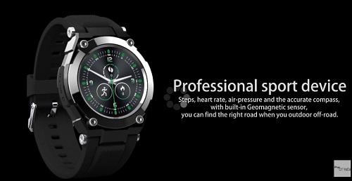 NO.1 G9 - Smartwatch mit SIM, GPS und IP68 Zertifizierung