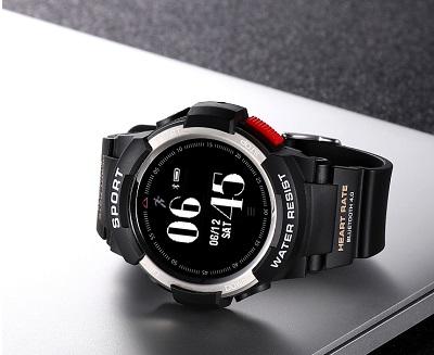 NO.1 F6 IP68 Outdoor Style - Erste neue Smartwatch im neuen Jahr 2018.