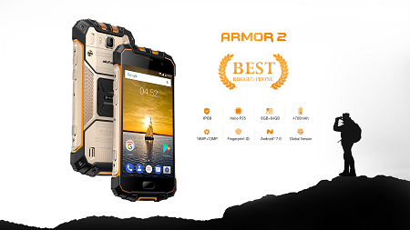 Ulefone Amor 2 geht in den Vorverkauf- 5.0 Zoll, 6GB RAM für knapp 220€