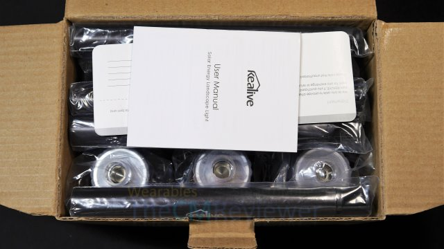 Kealive 6er Set LED Solarlampe Review - LED Lampe Set im Test