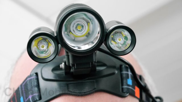 wolfyok led headlamp review stirnlampe fahrrad. Black Bedroom Furniture Sets. Home Design Ideas
