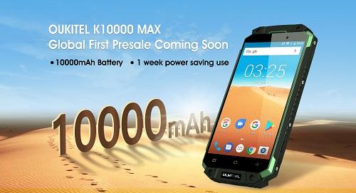 Oukitel hat den Energieverbrauch beim K10000 Max getestet.