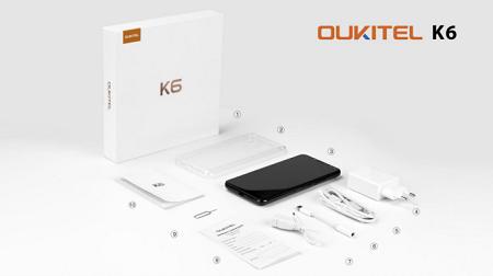 Oukitel veröffentlicht erstes Unboxing zum K6