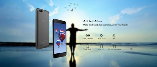 AllCall Atom - Klein, handlich und günstig - 4G Smartphone mit Metallgehäuse das sich lohnen könnte!
