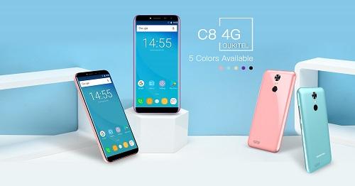 Oukitel spendiert dem C8 einen MT6737 und macht so daraus ein 4G Smartphone