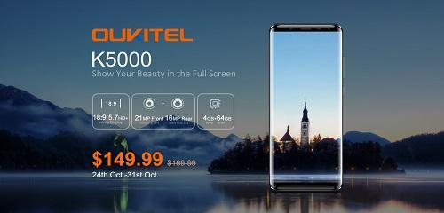 Oukitel K5000 - Viel Smartphone für 150€ ? - 5.7 Zöller bis zum 31.10 im Vorverkauf