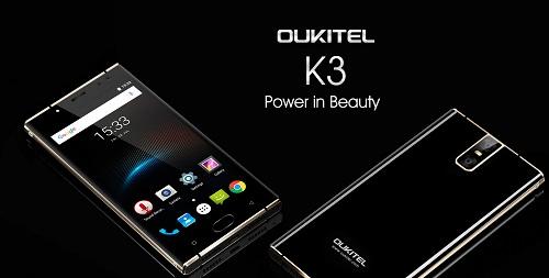Oukitel veröffentlicht alle Spezifikationen zum K3 - Verkaufsstart soll im September beginnen.