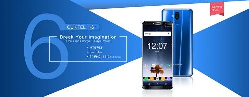 Oukitel K6 mit einem Helio P23 ( MediaTek MT6763 ) und 6GB RAM - Ein Dauerläufer mit ordentlich Leistung ?