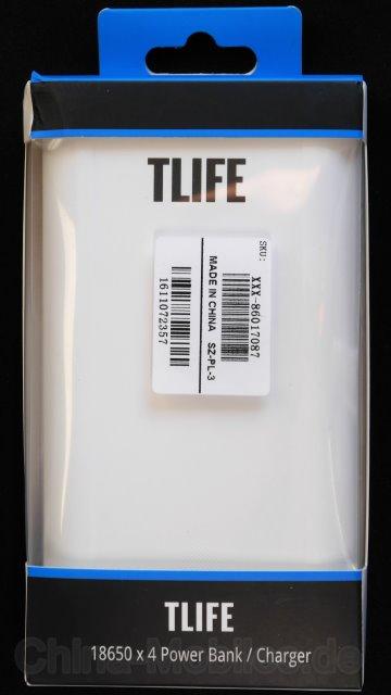 TLIFE TC-01 4 Slots 18650 Battery Mobile Power Bank Charger - Eine Powerbank und Ladegerät zugleich im Test