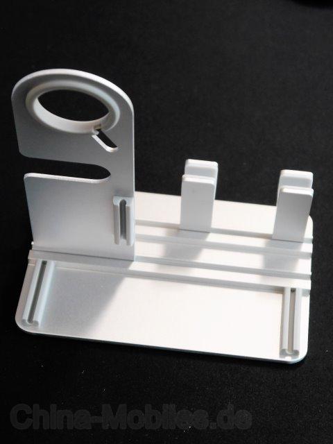 Multifunctional Mini Assembled Display / Charging Holder for iPad / iPhone / Apple Watch Sliver - Ein universeller Ständer im Test