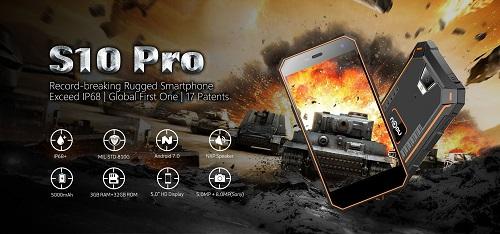 Nomu S10 Pro - 5 Zoll, starker Akku und IP68 Zertifizierung.