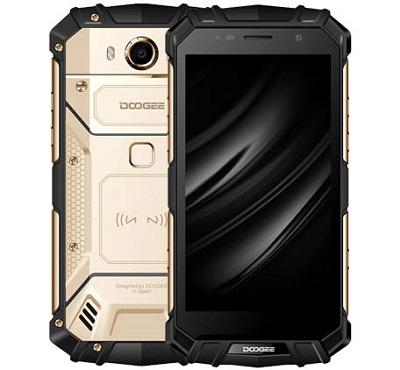 Doogee S60 Outdoor Smartphone mit Helio P25/5.2 Zoll und Sonderedition Silver Mix angekündigt