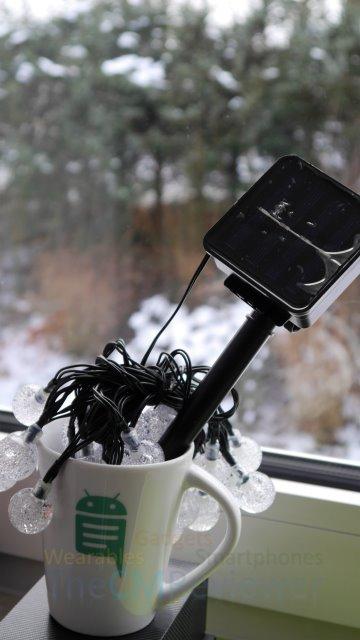 Fredorch Solar LED 30er Kristall-LED-Kugeln Set Review - Lichterkette im Test