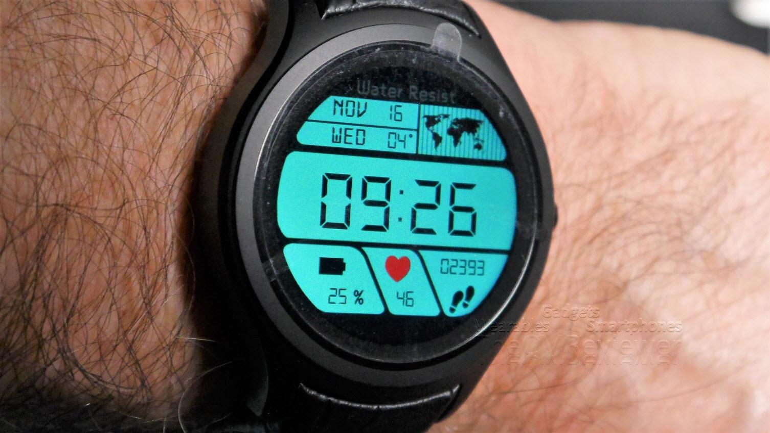 No.1 G5+ Smartwatch // Review // - Eine 3G Smartwatch im Test
