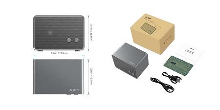 Aukey Schnäppchen - BT-Lautsprecher mit Rabatt für unter 10€ und weitere Artikel!