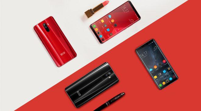 Elephone U und U Pro Reservierungsphase – 6 Zoll AMOLED Edge-Display