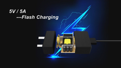 5V/5A Flash Charging
