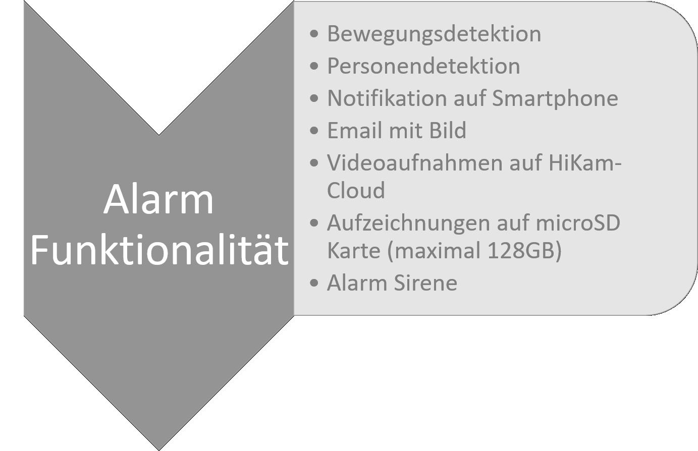 Alarm HiKam S6