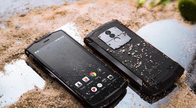 Bester Preis eines IP68 Smartphones im Vergleich zu BV5800 & Ulefone Armor X – Doogee S55