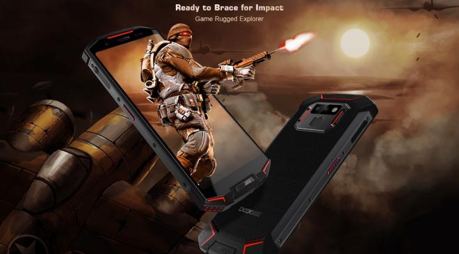Doogee S70 pünktlich auf dem Markt – Weltweit erstes Gaming- Rugged Smartphone