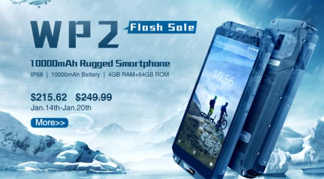 Oukitel WP2 – Outdoor Smartphone derzeit vergünstigt für 215€ erhältlich!