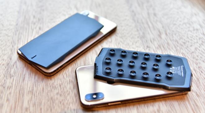 MUJA Gamepad – Die nächste Generation mobiler Stick-on Gamepads zum Kauf freigegeben