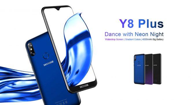 Doogee Y8 Plus – Doogee rüstet sein erstes Android Pie™ Smartphone Y8 weiter auf