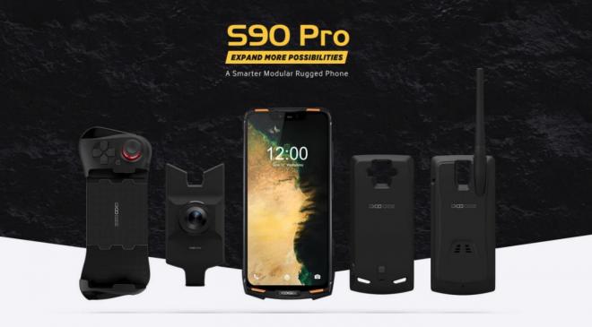 Das aktualisierte DOOGEE S90 Pro kurze Zeit nur für $ 299 USD