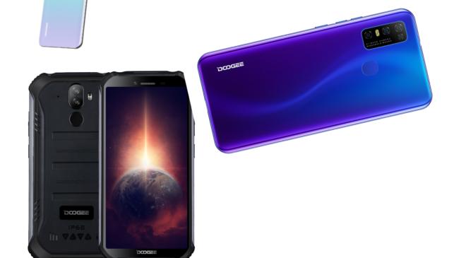 DOOGEE bringt seine neuen preiswerten Android 10 Smartphones N30 und S40 Pro auf den Markt