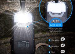 Soluser i26s Testbericht:   Powerbank mit 26.800mAh, IP66 & Solarpanel