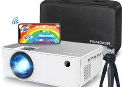 FANGOR F-506 Testbericht: Mini Beamer mit nativen 1080P FHD als Heimkino?