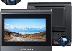 APEMAN C770 Testbericht – 4K Dashcam mit GPS & Wi-Fi mit Touchscreen und Rückkamera